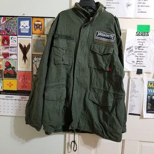 Megadeth jacket Large Supercollider World Tour